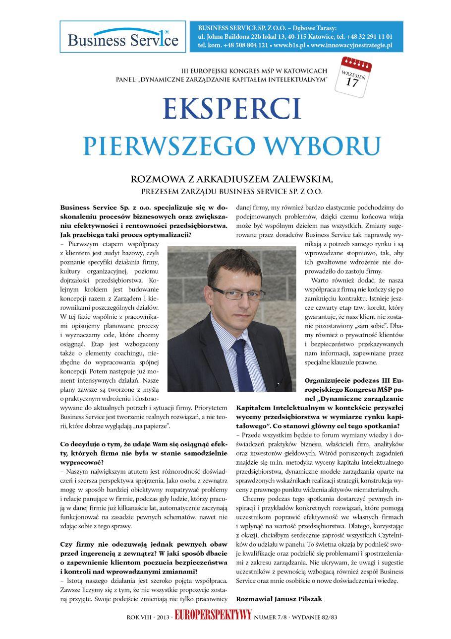 Arkadiusz Zalewski - Kapitał Intelektualny