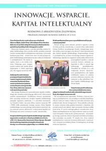 Innowacje, wsparcie, Kapitał Intelektualny - Arkadiusz Zalewski
